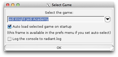 Select Game